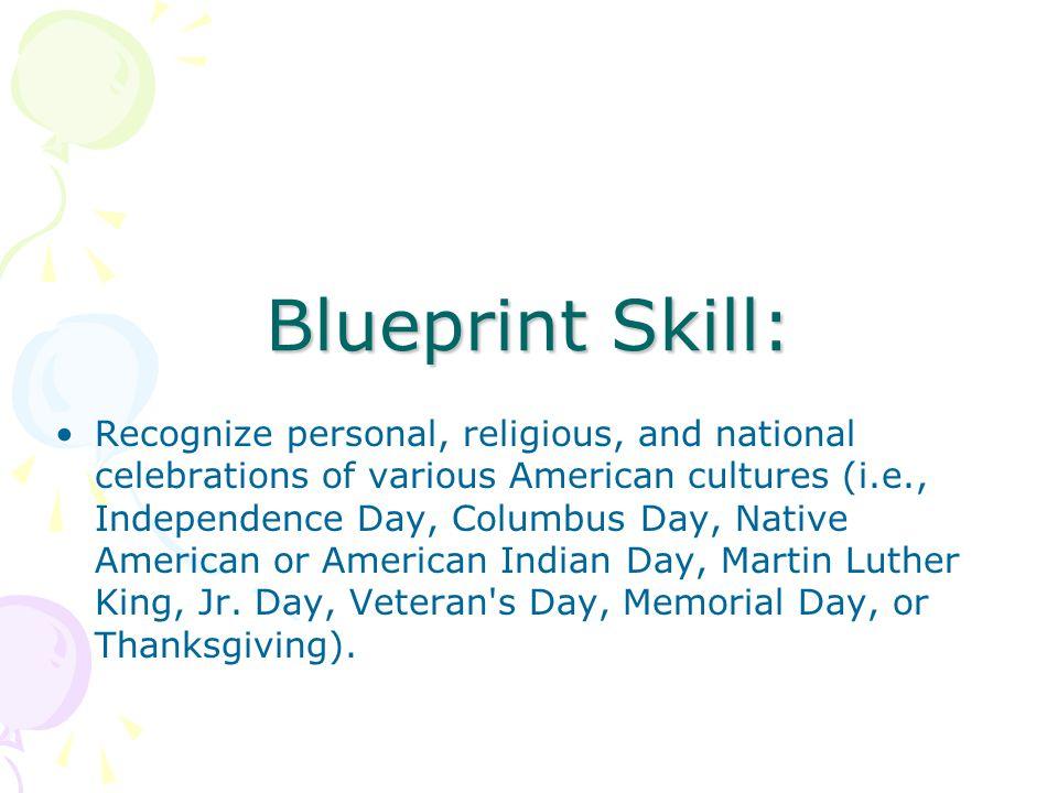 Blueprint Skill: