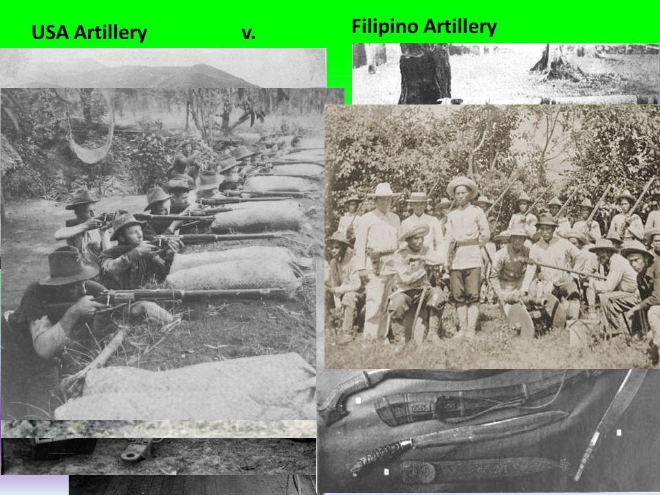 Filipino Artillery USA Artillery v.