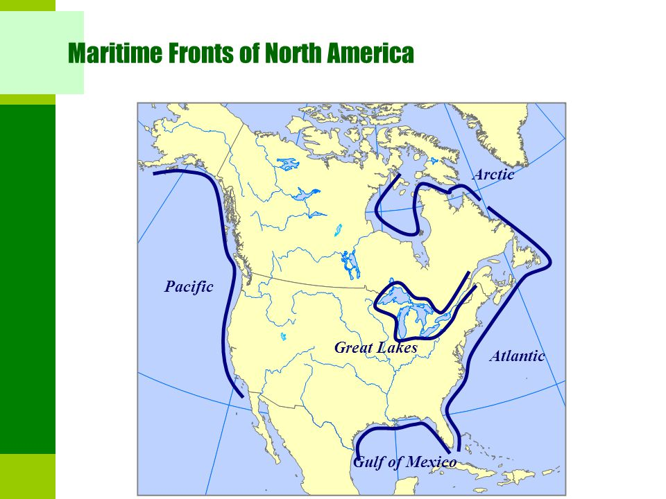 Maritime Fronts of North America