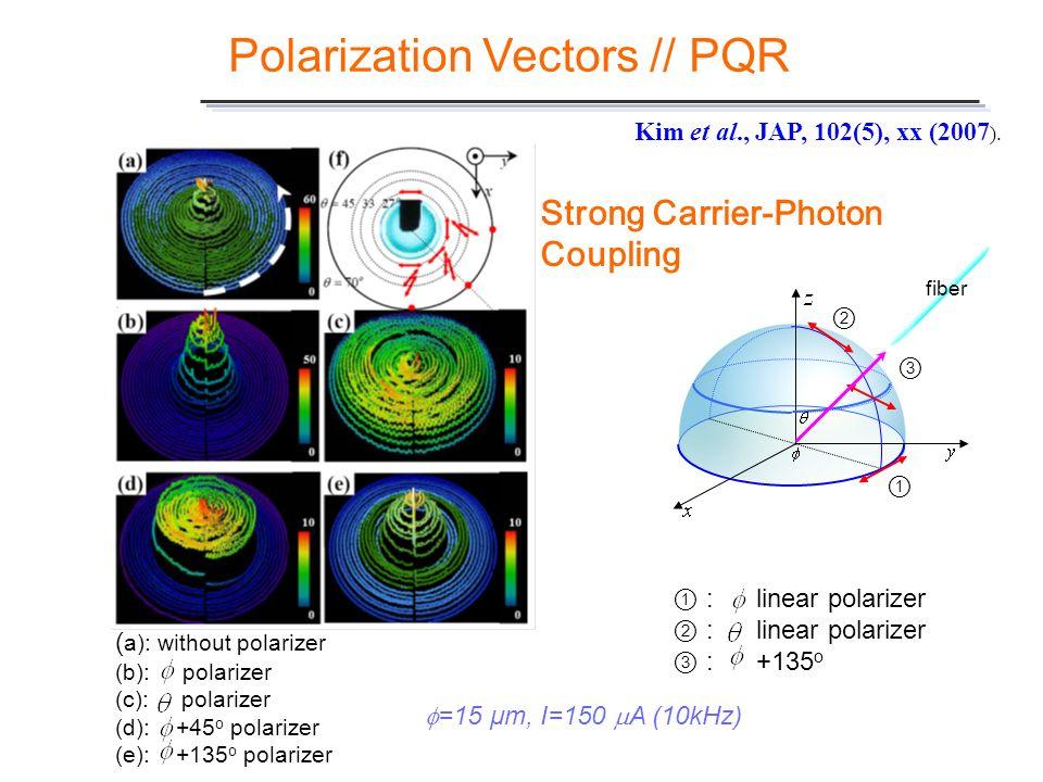 Polarization Vectors // PQR
