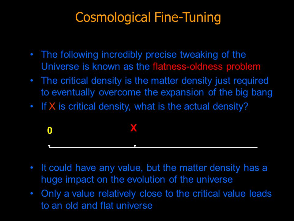Cosmological Fine-Tuning