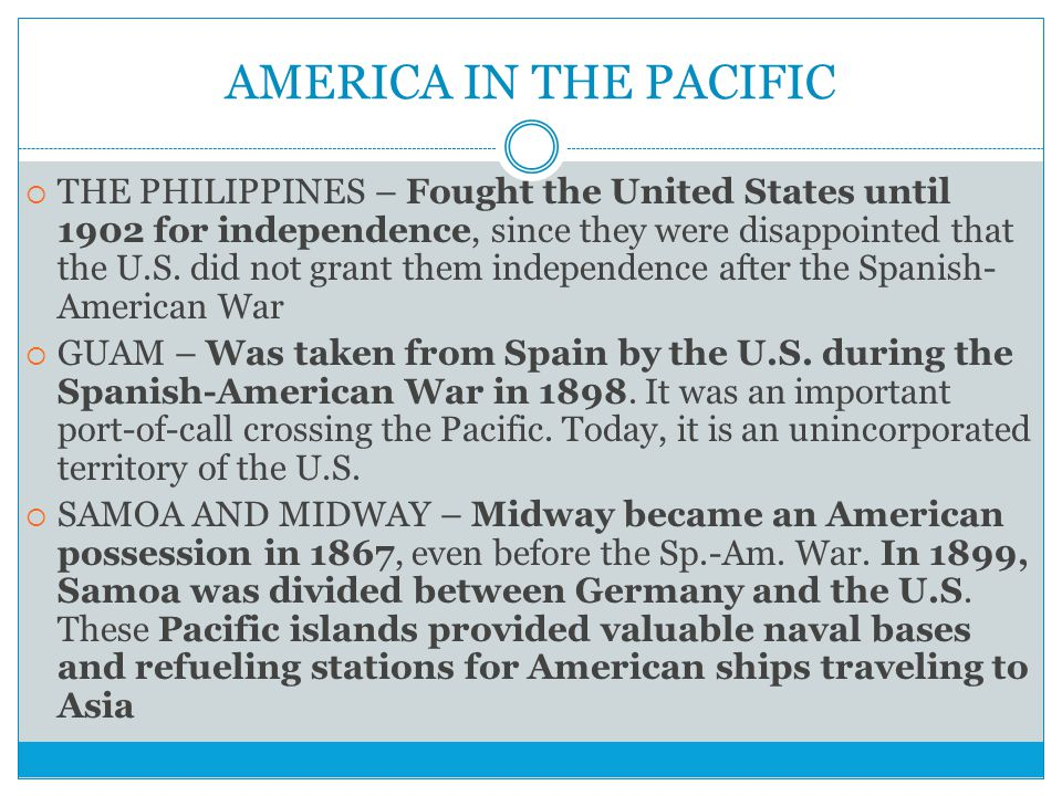 AMERICA IN THE PACIFIC