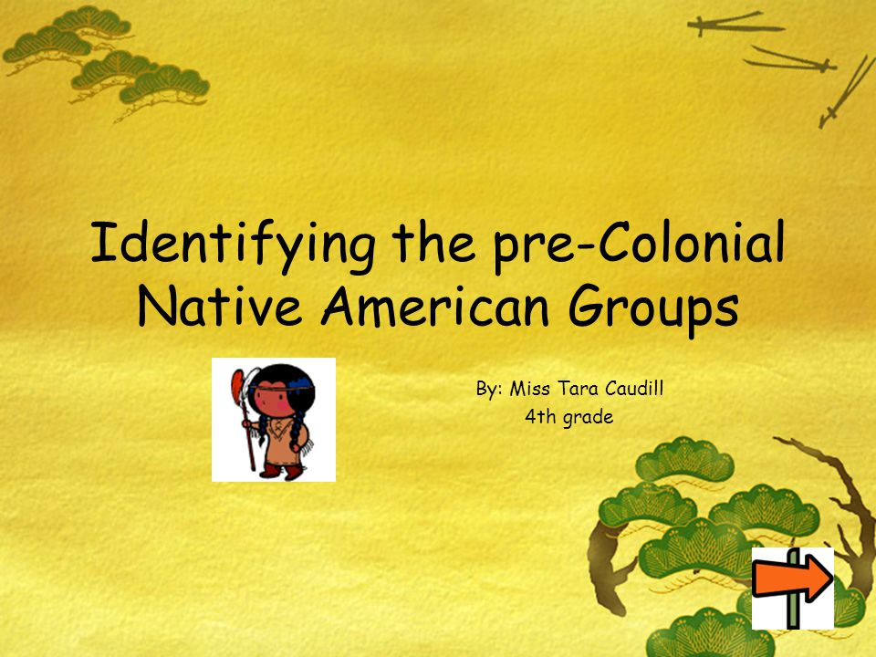 Identifying the pre-Colonial Native American Groups