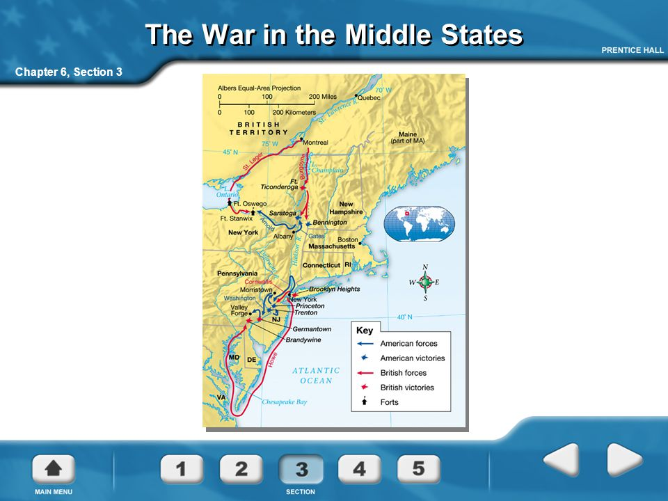 The War in the Middle States