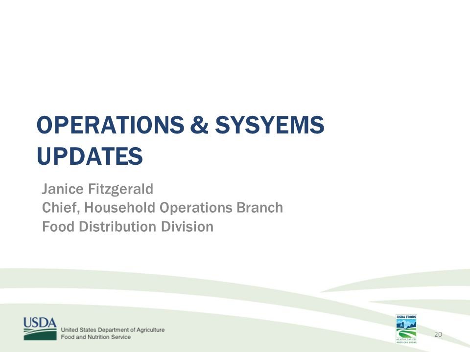 Operations & SYSYEMS Updates