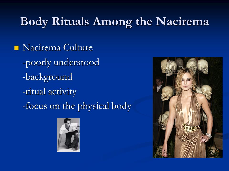 Body Rituals Among the Nacirema