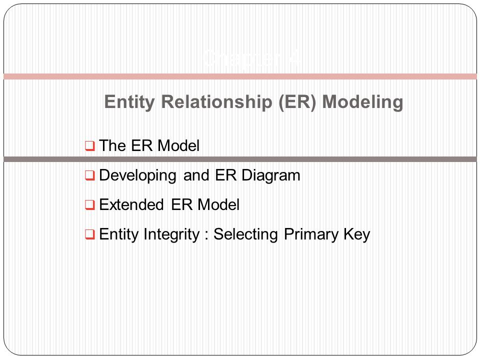 er modeling 2004 john mylopoulos the extended entity-relationship model -- 3 conceptual modeling csc2507 the constructs of the eer model and/xor.