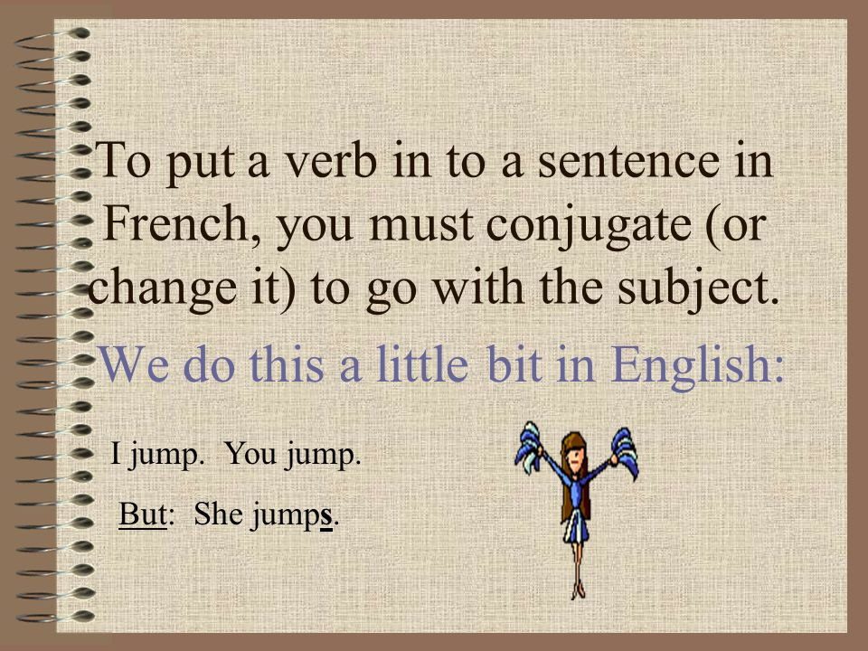 We do this a little bit in English:
