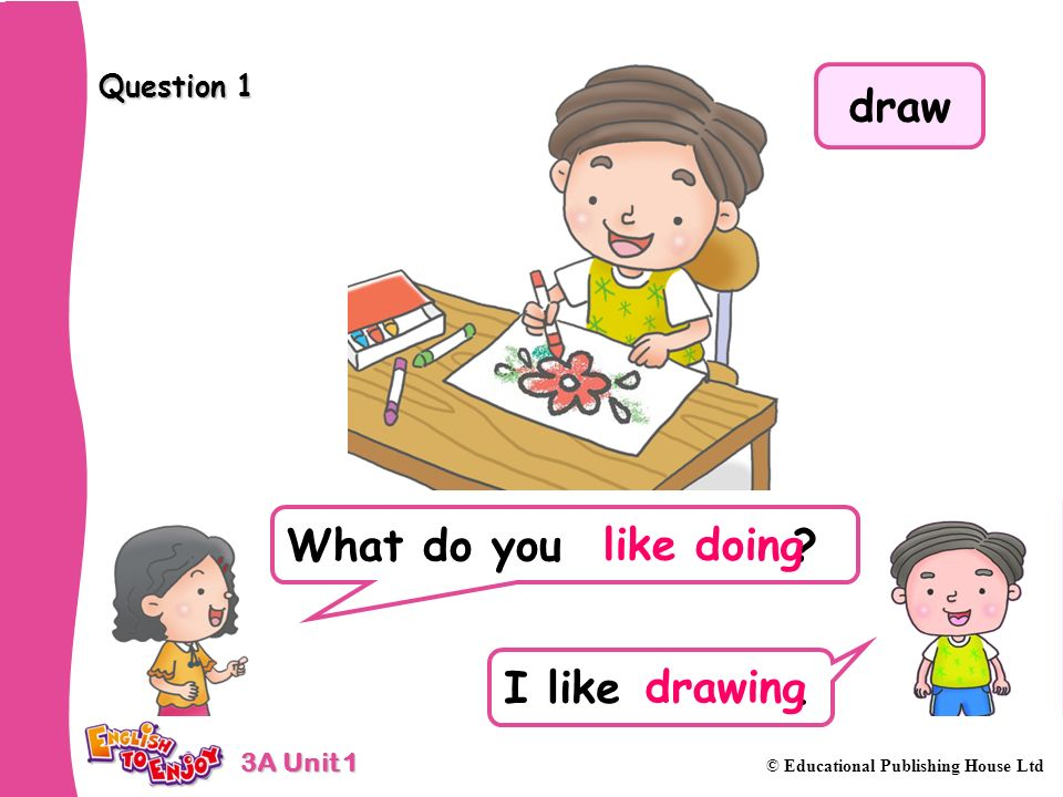 draw like doing drawing