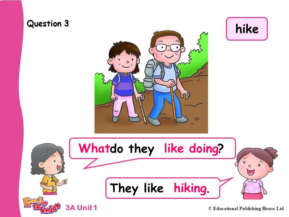 hike What like doing hiking