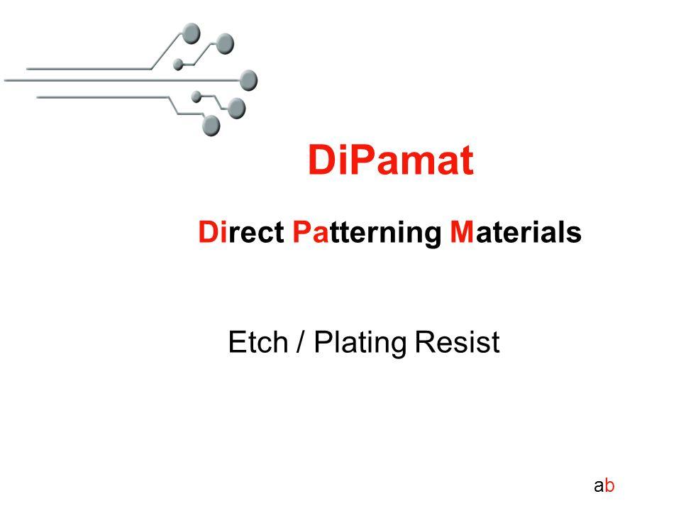 DiPamat Direct Patterning Materials