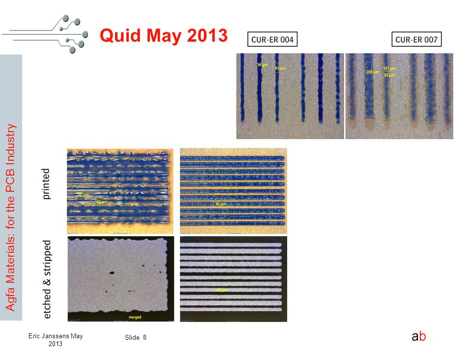 Quid May 2013 Eric Janssens May 2013