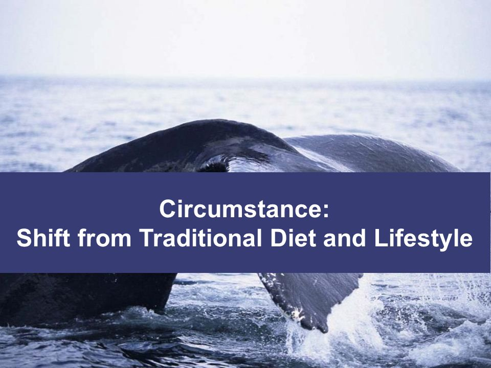 Shift from Traditional Diet and Lifestyle