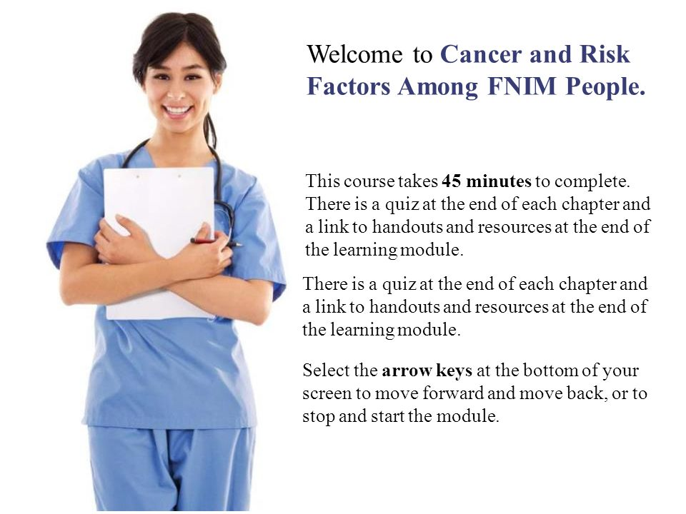 Welcome to Cancer and Risk Factors Among FNIM People.