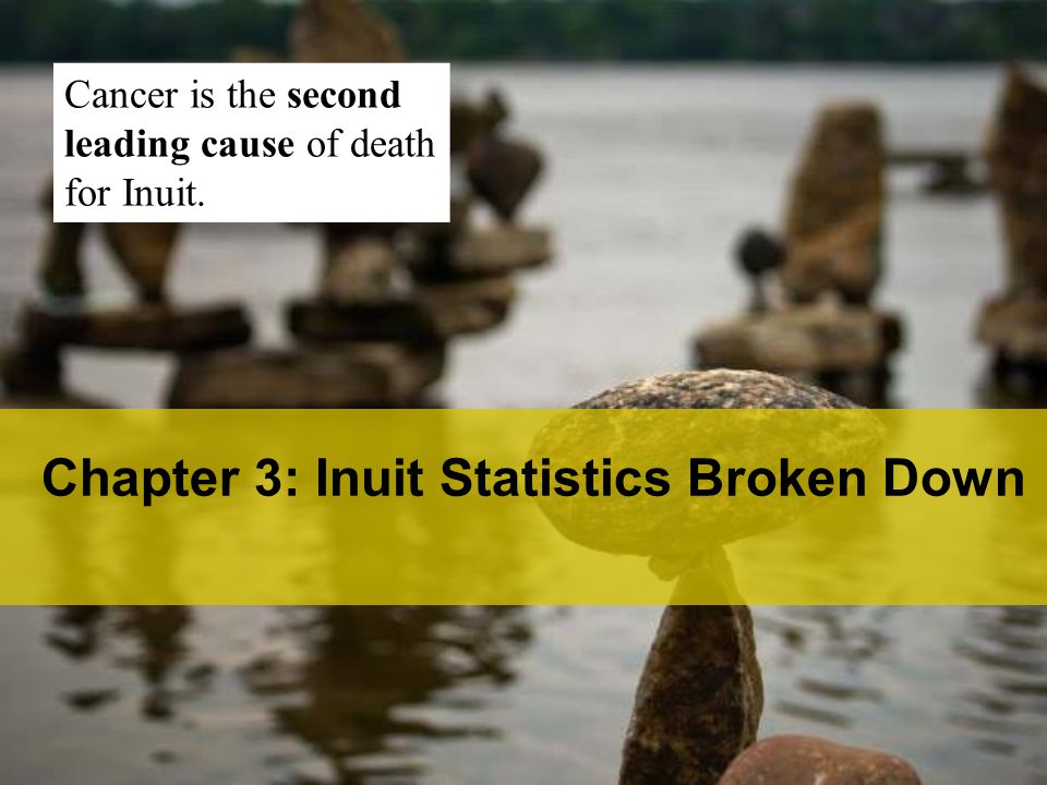 Chapter 3: Inuit Statistics Broken Down