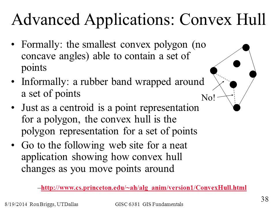 Advanced Applications: Convex Hull