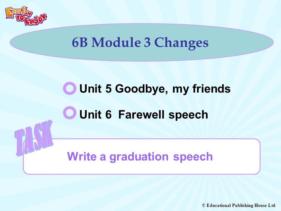 Write a graduation speech