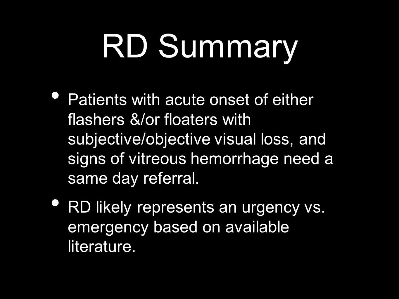 RD Summary