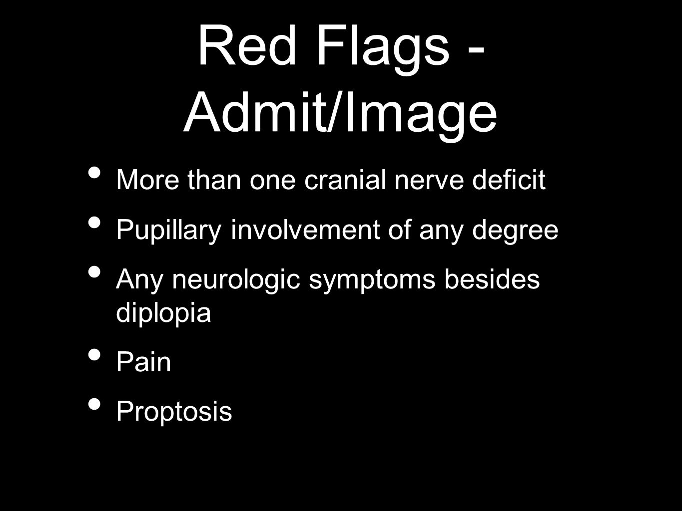 Red Flags - Admit/Image