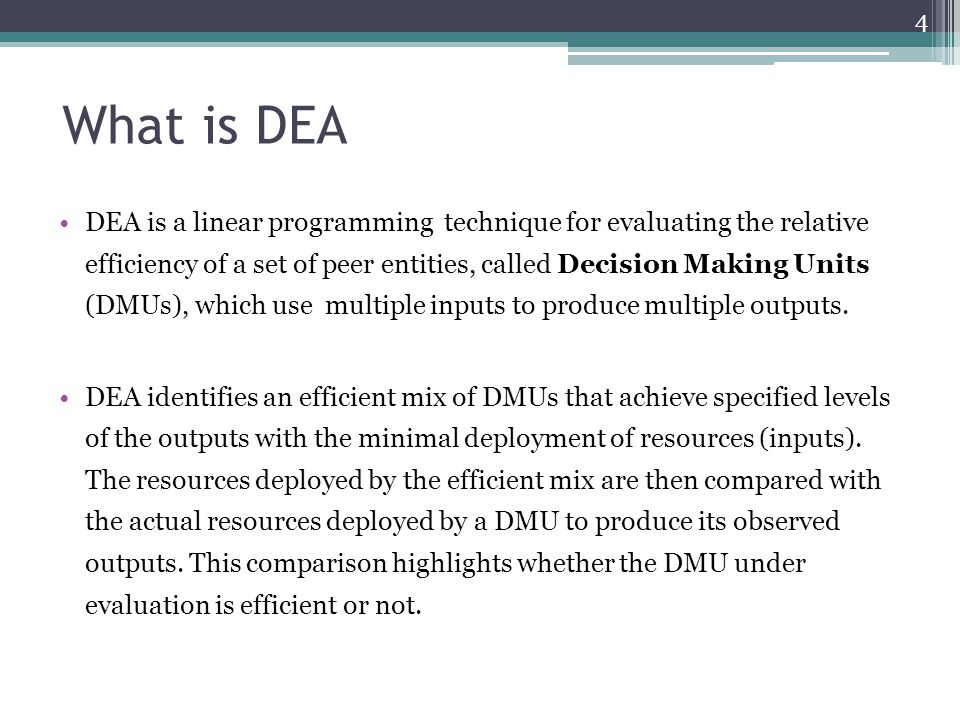 What is DEA