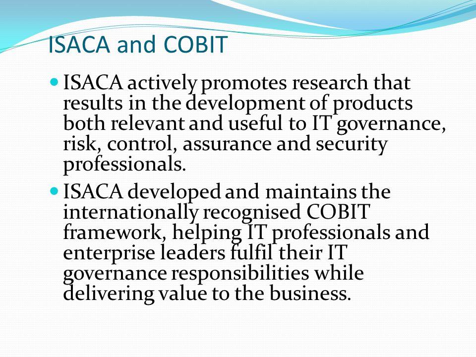 ISACA and COBIT