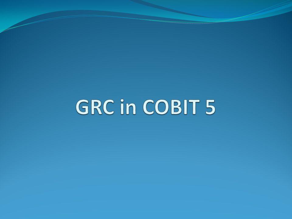 GRC in COBIT 5