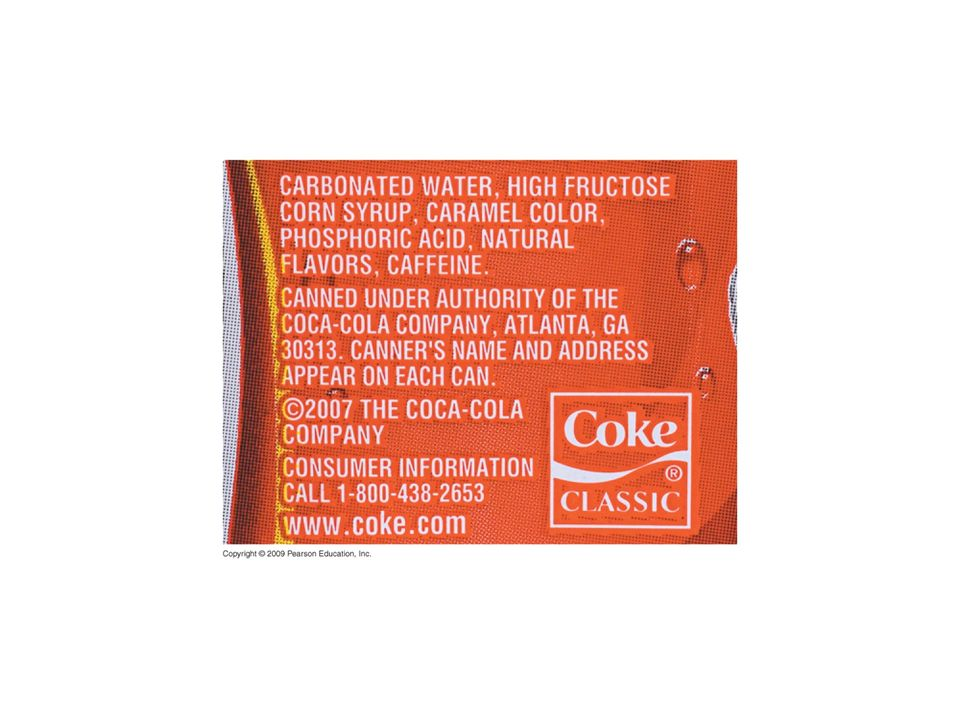 Figure 3.6 HFCS, a main ingredient of soft drinks and processed foods.