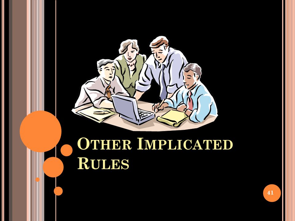 Other Implicated Rules