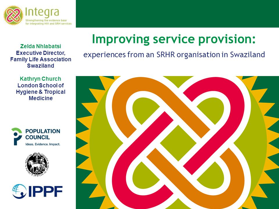 Improving service provision: