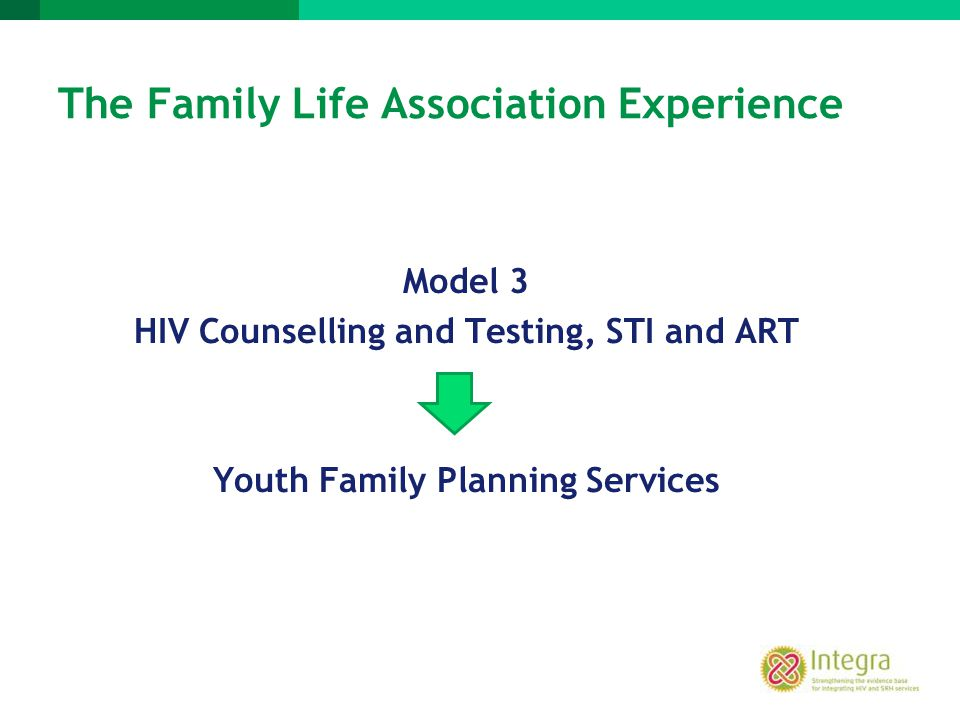 The Family Life Association Experience