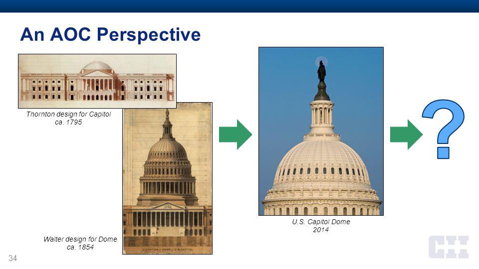 Thornton design for Capitol