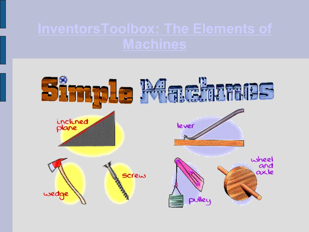 InventorsToolbox: The Elements of Machines