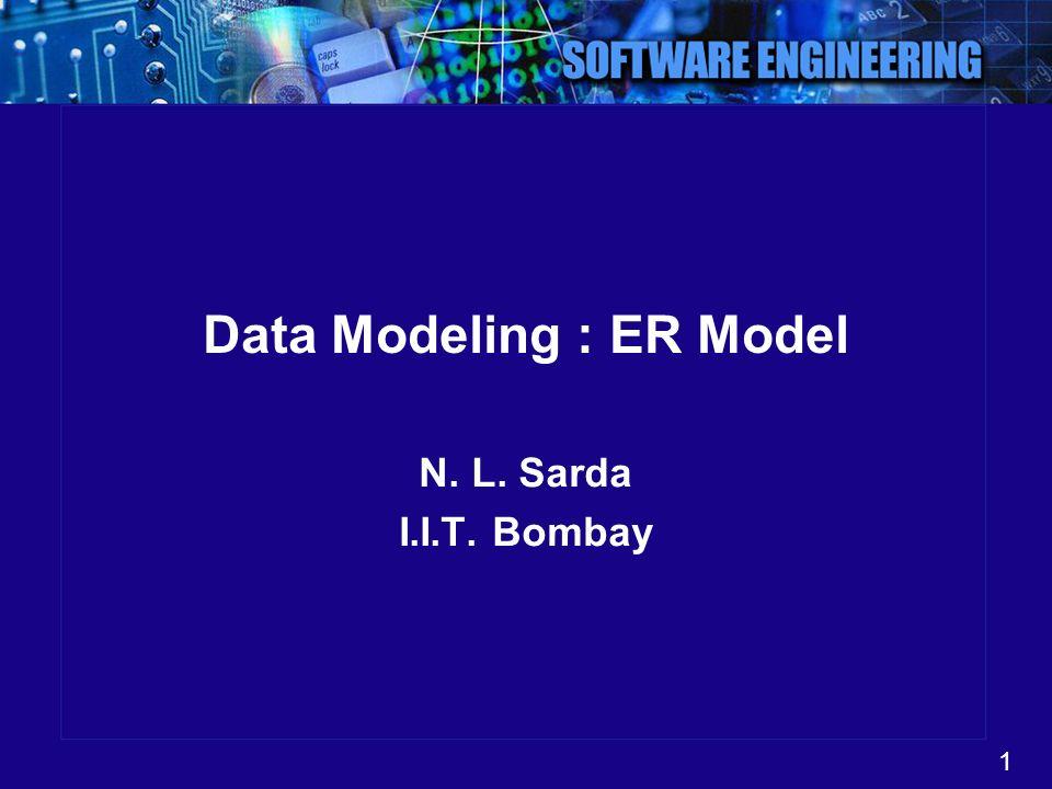 Data Modeling : ER Model
