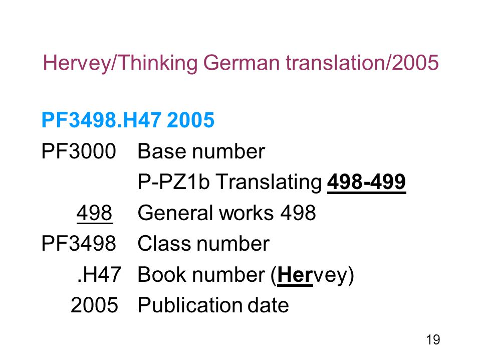 Hervey/Thinking German translation/2005
