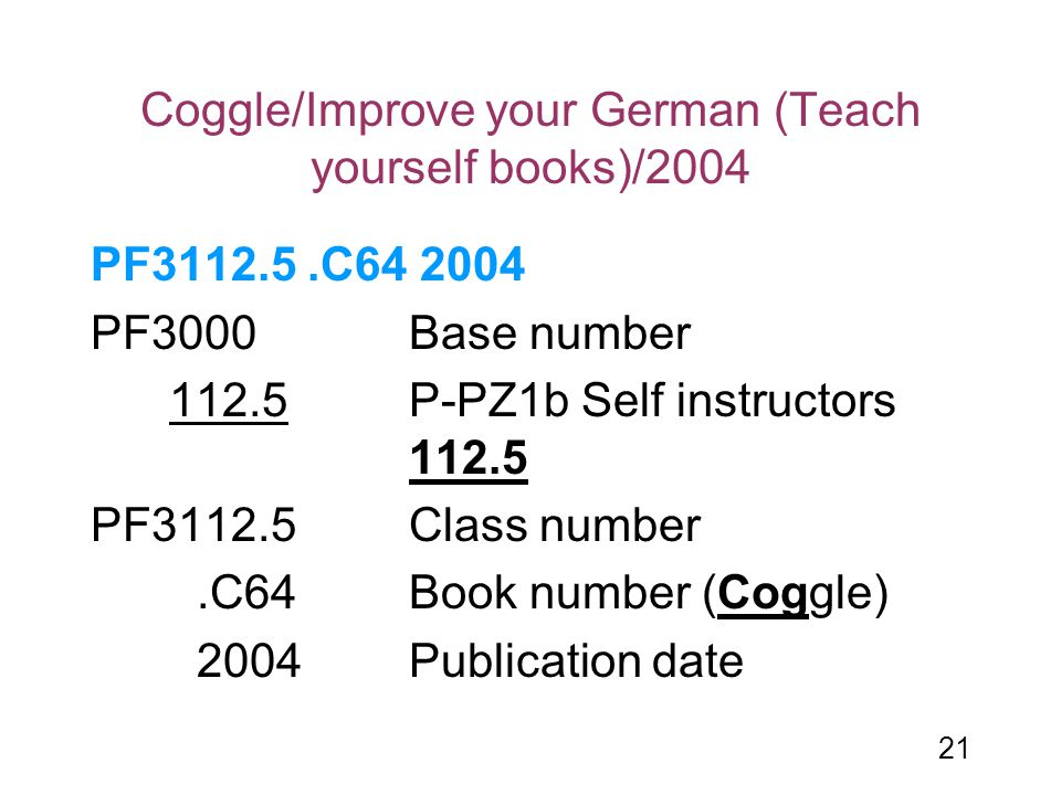 Coggle/Improve your German (Teach yourself books)/2004