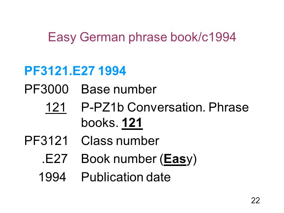 Easy German phrase book/c1994