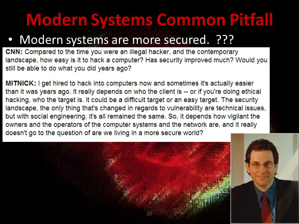 Modern Systems Common Pitfall