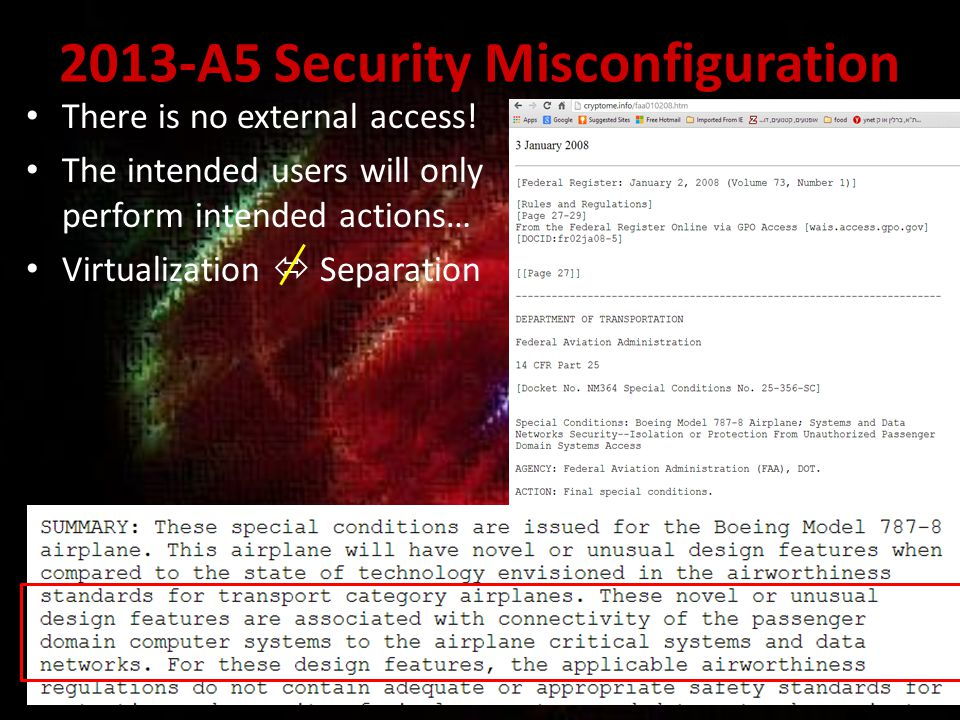 2013-A5 Security Misconfiguration