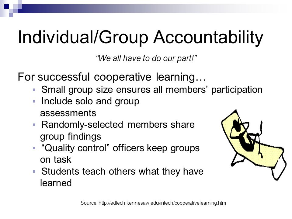 Individual/Group Accountability