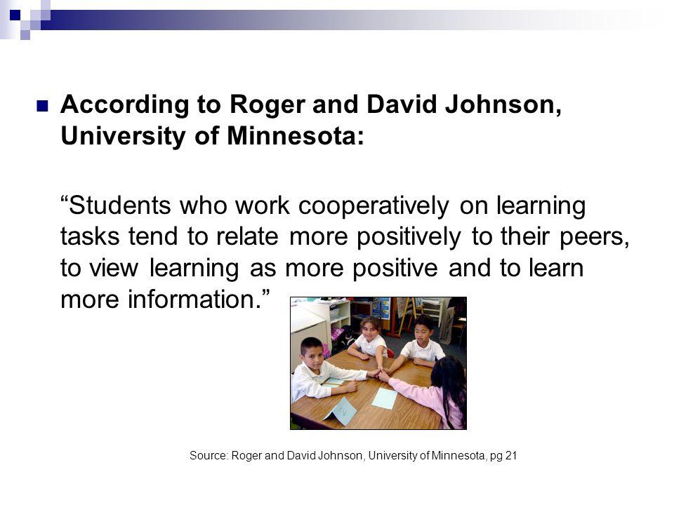 Source: Roger and David Johnson, University of Minnesota, pg 21