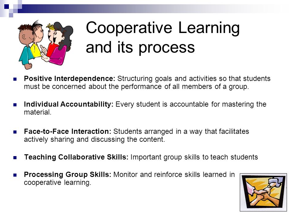 Cooperative Learning and its process