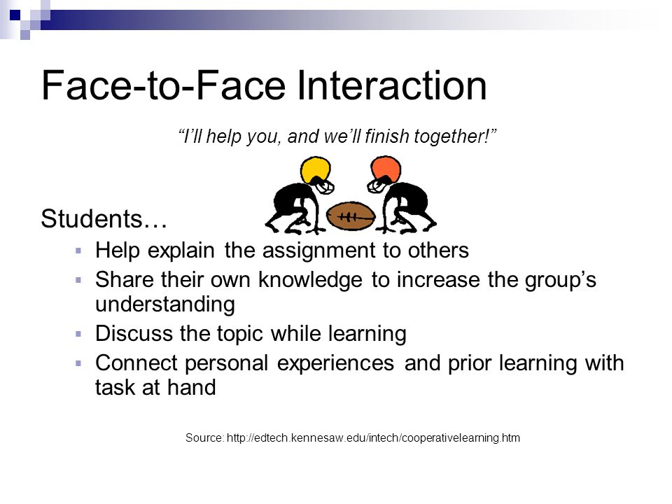 Face-to-Face Interaction
