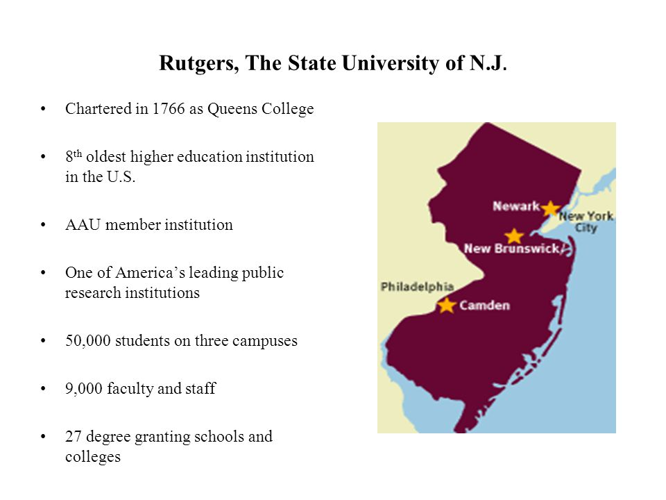 Rutgers, The State University of N.J.