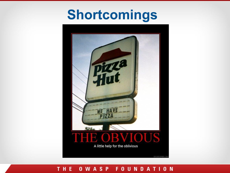 Shortcomings