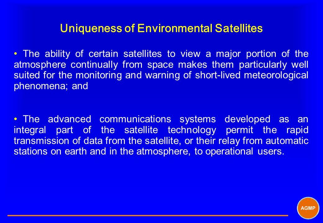 Uniqueness of Environmental Satellites