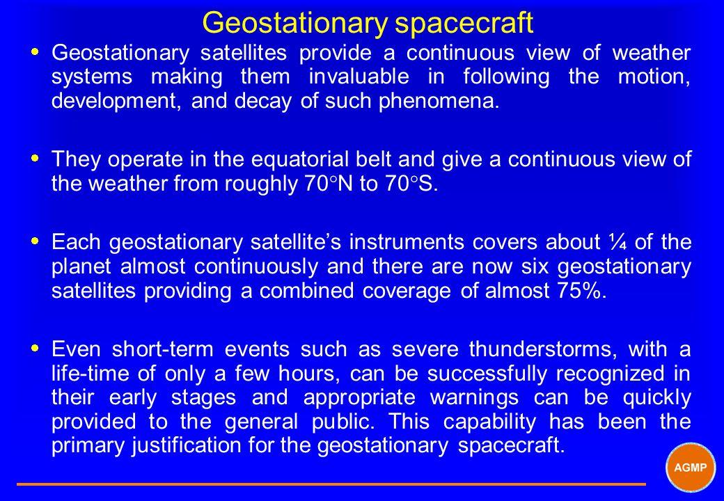Geostationary spacecraft