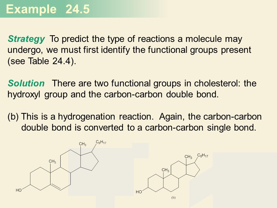 24.5 Strategy To predict the type of reactions a molecule may