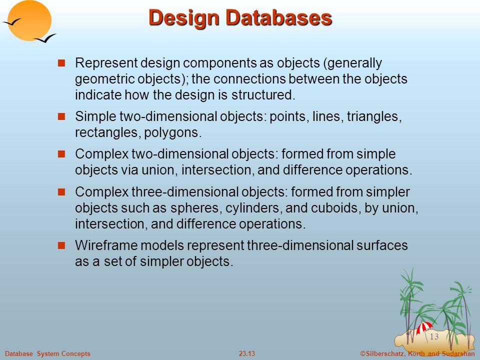 Design Databases