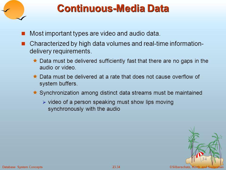 Continuous-Media Data