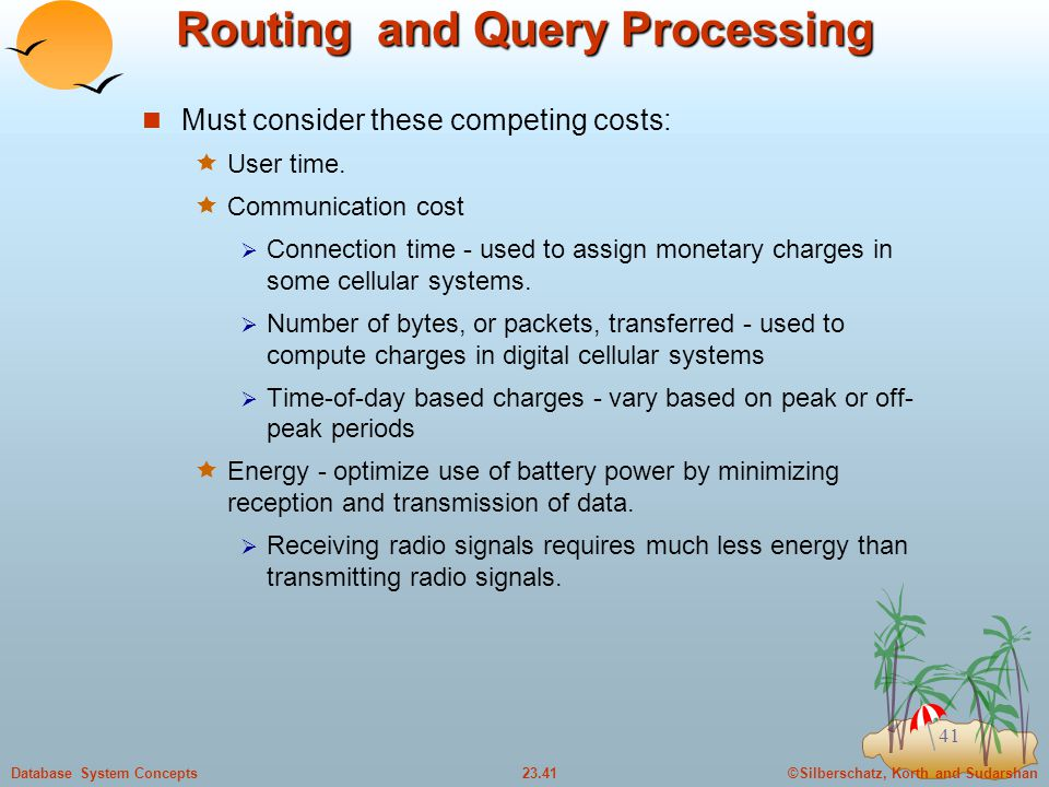 Routing and Query Processing